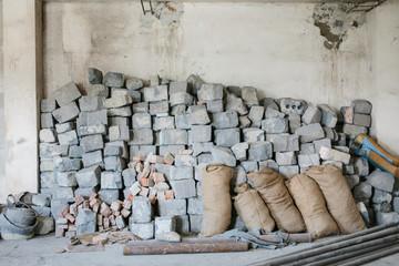 old bricks stock