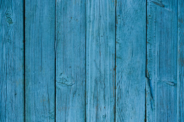 Blue wood texture for background