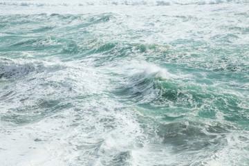 Beautiful wild ocean