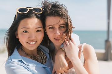 Female friends outdoor