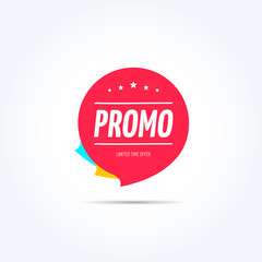 Promo Shopping Marketing Tag
