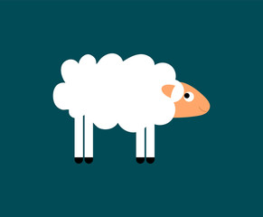 Sheep Flat Cartoon Picture