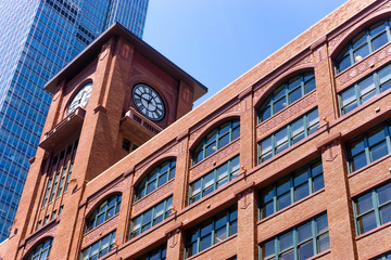 Brick Building in Chicago