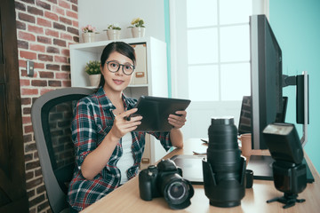 sweet photo stock company female office worker