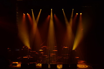 Dark Concert Lighting