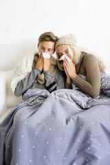 Coupe having flu