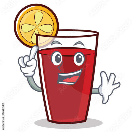 Cartoon Characters 3 Fingers : Quot finger mulled wine character cartoon stockfotos und