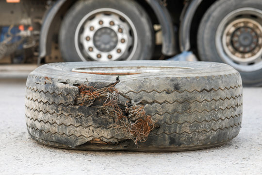 worn-out wheel