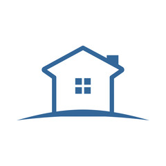 Simple Blue Land House