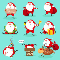 Santa Claus, Christmas set