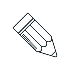 handdraw icon big pencil