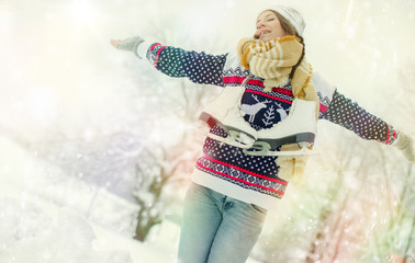 winterurlaub frau yoga