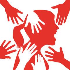 harcèlement - sexuel - femme - travail - violence - abus - lutte - agression - victime - viol