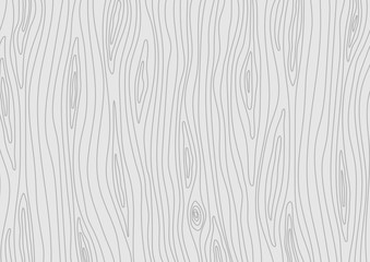 Wooden light grey texture. Vector wood background