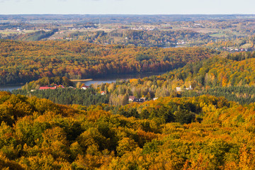 Kashubia in autumn