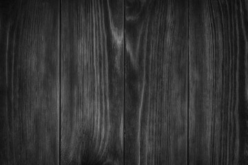 weathered barn wood background, Black and White color. Monochrome, dark wooden texture
