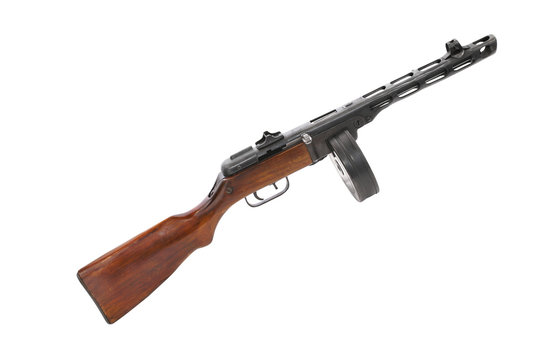 Famous Soviet (USSR) submachine gun
