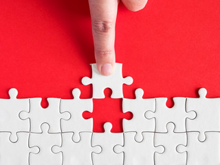 White jigsaw puzzle 4
