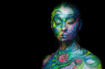 Body art - Sea Creature (front)