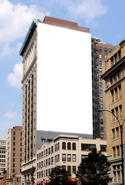 Large Billboard in the City