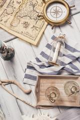Maritime theme tabletop