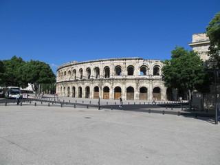 Nimes amphitheater, France