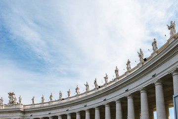 Statues in St. Peter's Square, Vatican
