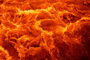river of magma lava. background texture.