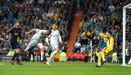 Champions League - Real Madrid vs Tottenham Hotspur