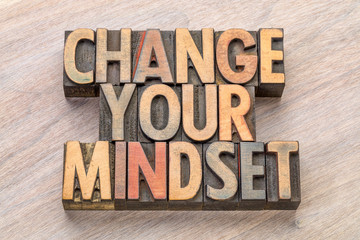 change your mindset in wood type