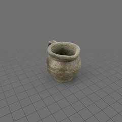 Short ceramic mug