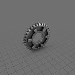 Machine gear 6
