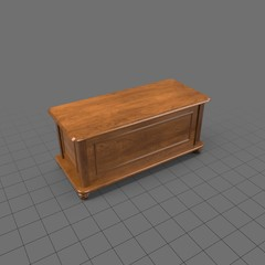 Closed blanket chest