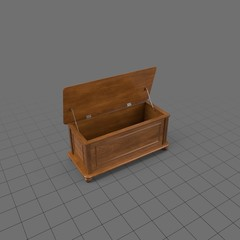Open blanket chest