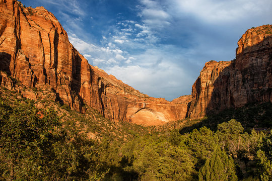 Zion National Park: Canyon Overlook seen from Zion–Mount Carmel Hwy