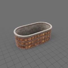 Medieval washtub
