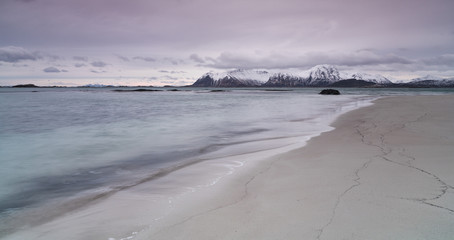 Eggum beach, Norway