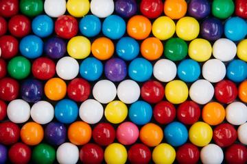 Colorful bubble gum pattern