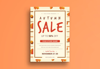 Autumn Sale Flyer 3