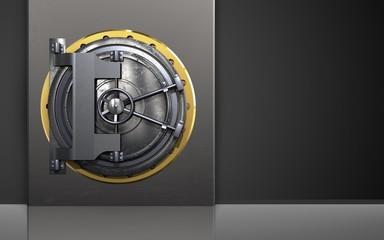 3d steel door safe