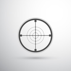 sniper scope target