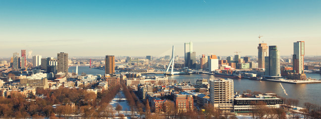 Photo Blinds Rotterdam view of the Rotterdam