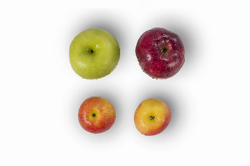 Apple variety apples isolated