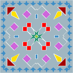 Rangoli Ornamental Design