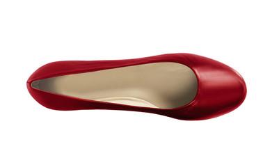 woman ballerinas shoe