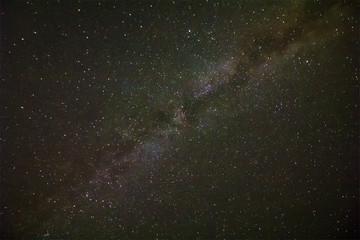 night sky with beauty milky way