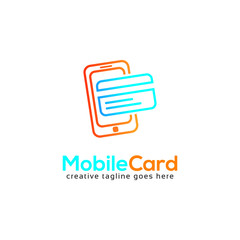 Mobile Card Logo for Mobile Payment Business
