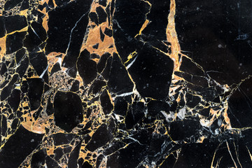 golden black marble with surface of structure detail texture
