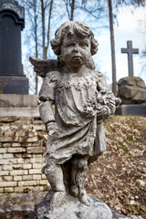 Statue of little Angel