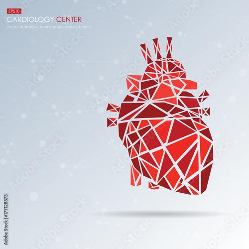 Human heart icon  Vector illustration